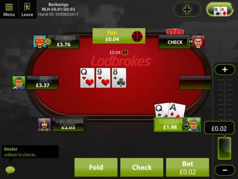 table poker ladbrokes