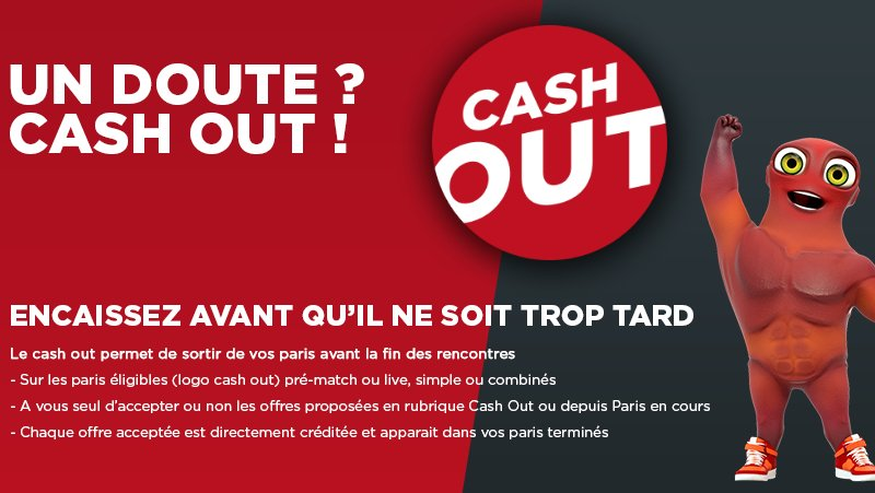 Cash out sur vos paris sport