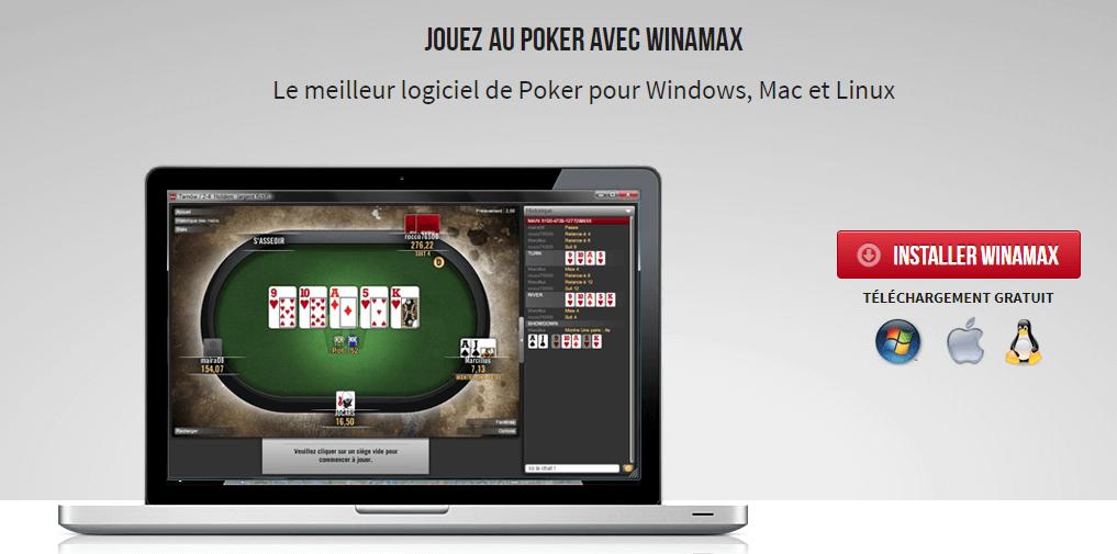 winamax poker téléchargement