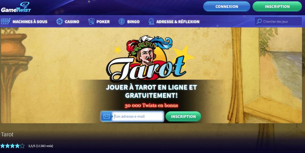 Jeu de Tarot en ligne   notre top des meilleurs sites - Kelbet 0cec0f80bd6a