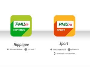Application iOS et Android de PMU