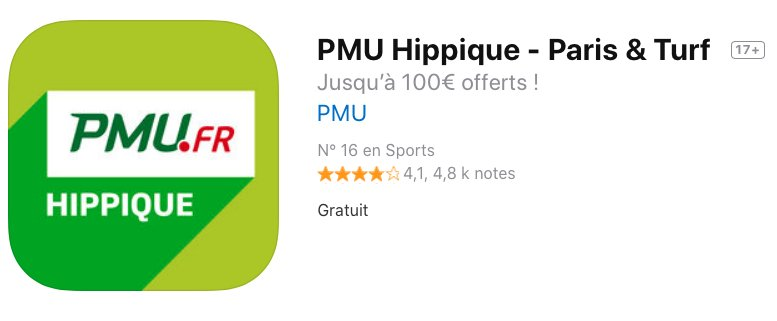 Application turf de PMU