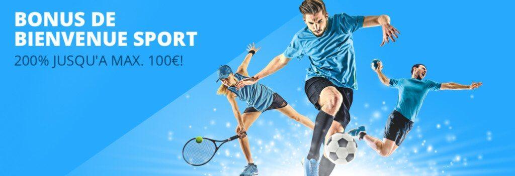 Offre de bienvenue Sport Blitz