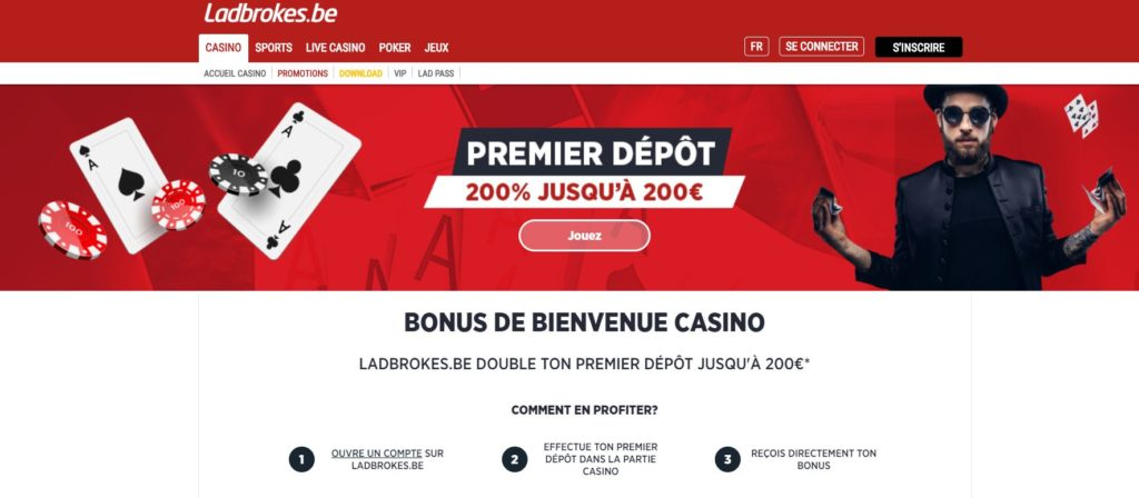 bonus ladbrokes casino