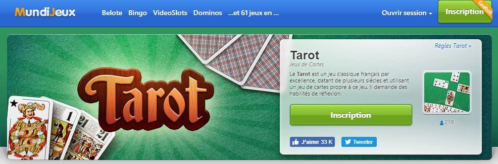 tarot en ligne mundijeux