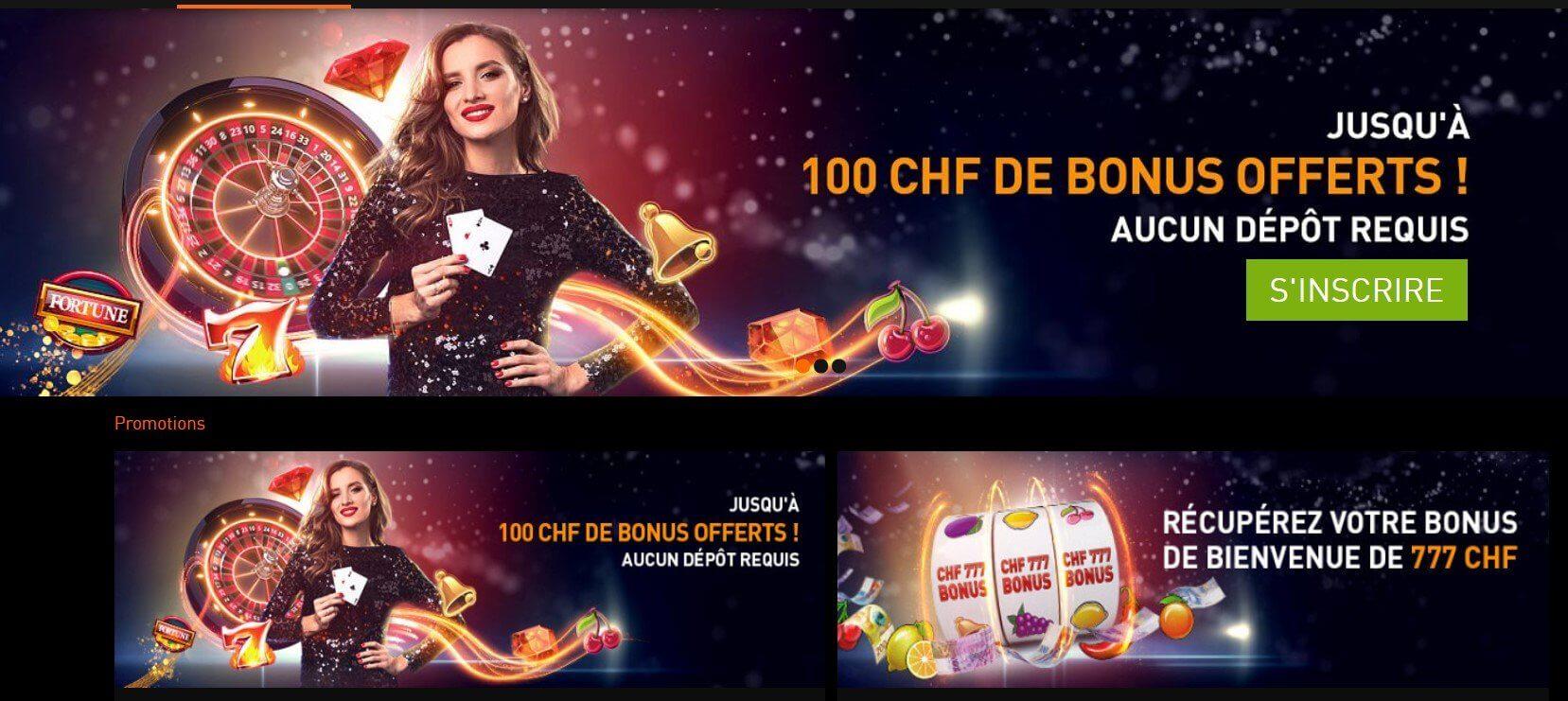Avis sur Casino777