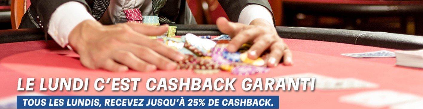 Cashback poker