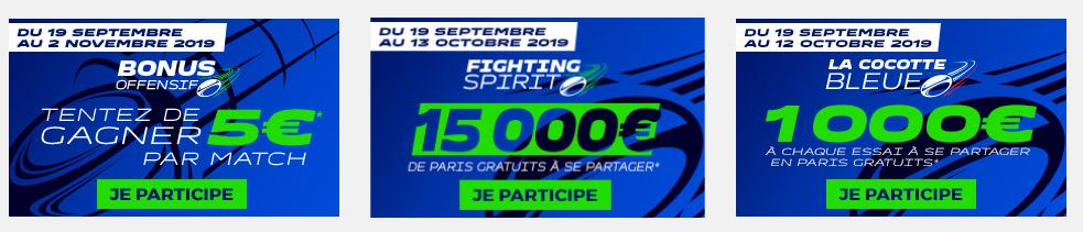 promos parions sport rugby