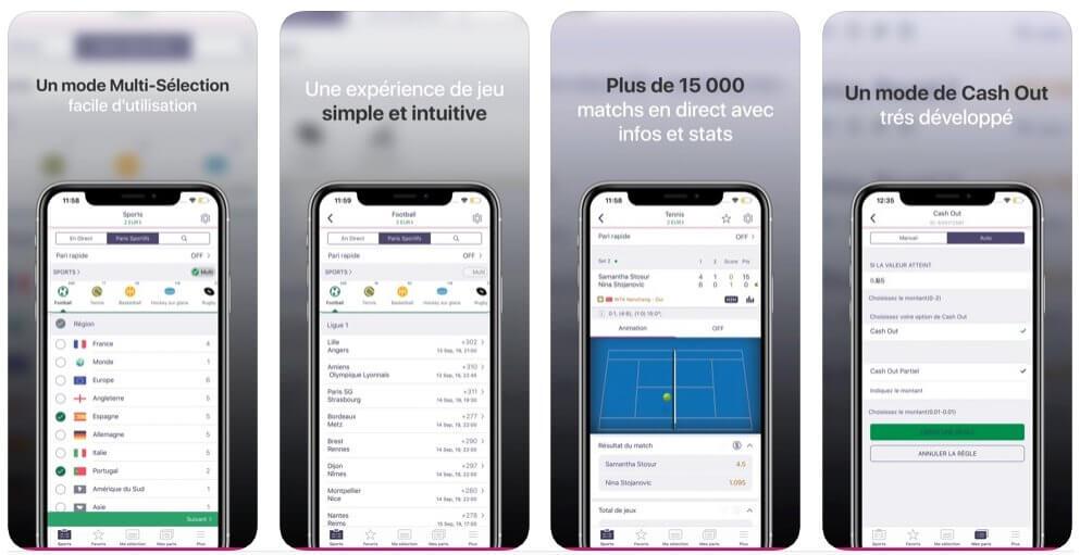 Application Vbet mobile