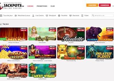 Avis du site jackpots.ch