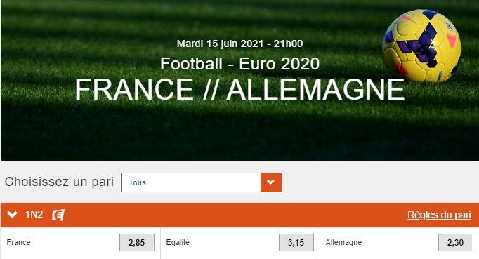 france allemagne euro 2020