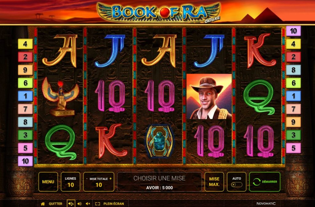 book of ra roulette