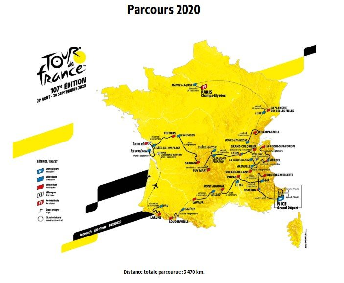 Parier sur le Tour de France 2020