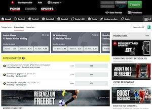 Présentation du site PokerStars Sport