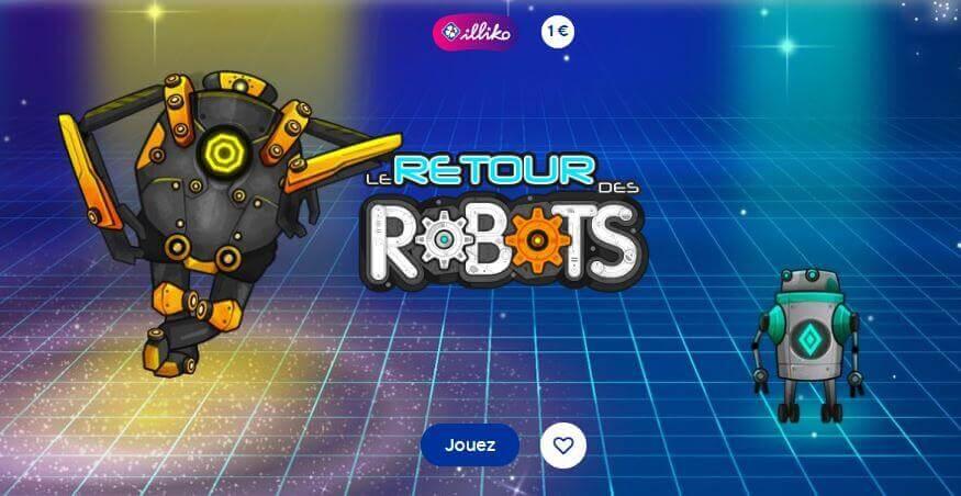 fdj retour des robots