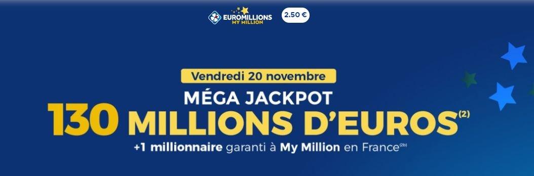 mega jackpot euromillons