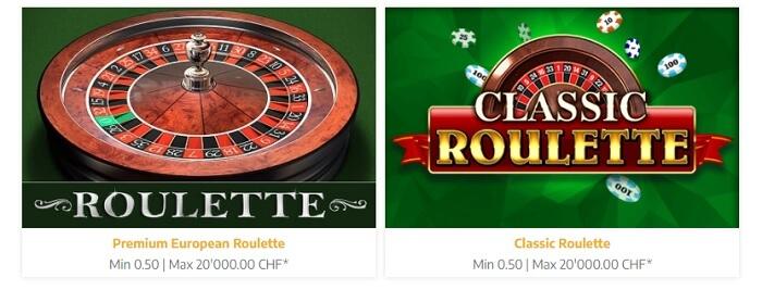 Swiss4Win Roulette