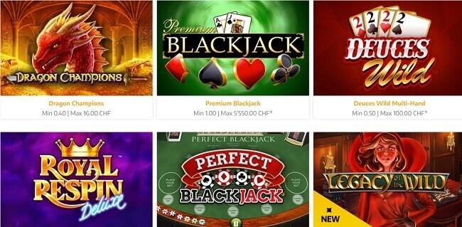 Swiss4Win Jeux Casino