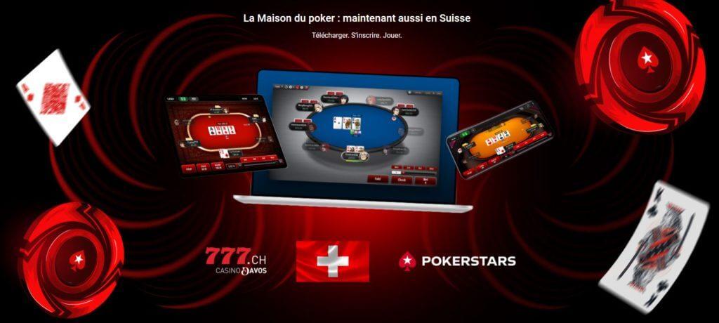 code promo pokerstars suisse